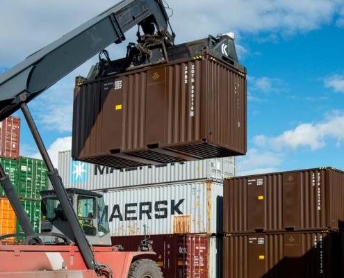 Neue eigens für die Ziegler Group entwickelte Bulk Container