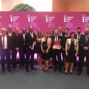 Abordnung der Ziegler Group bei der Verleihung des Bayerischen Gruenderpreis 2019