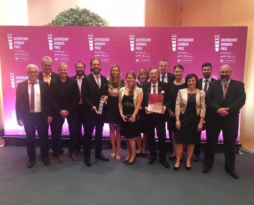 Verleihung des Bayerischen Gruenderpreis 2019