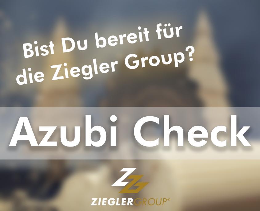 Titel vom Azubi Check