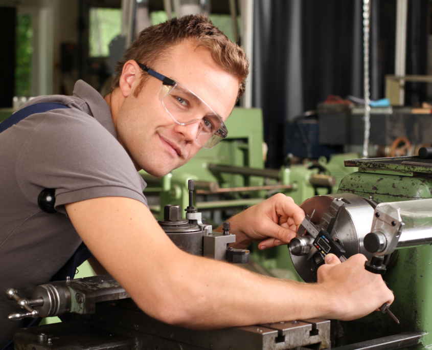 Arbeitssituation Mechaniker