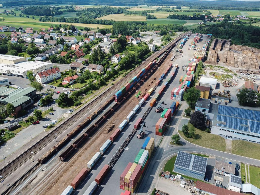 Luftaufnahme aus Wiesau