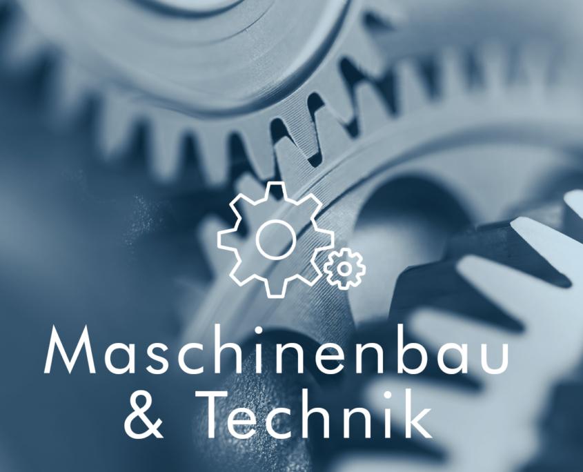Maschinenbau und Technik