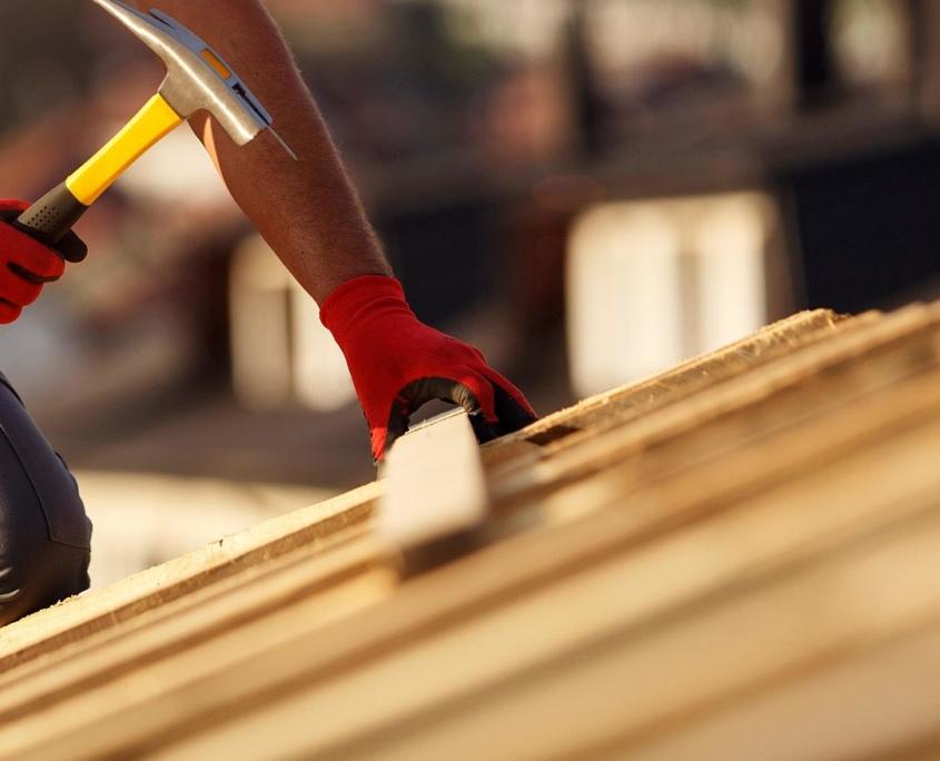Verarbeitung von Dachlatten