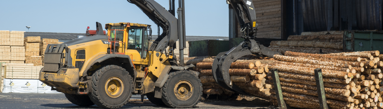 Transport von Holz