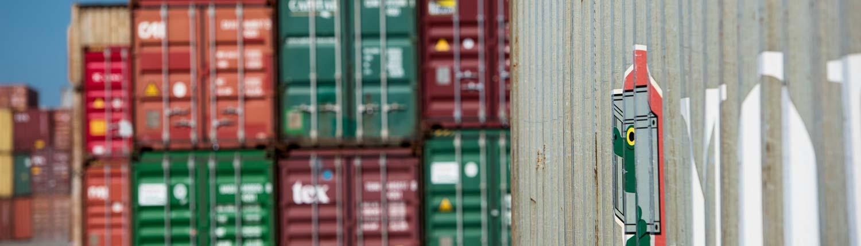 Container der Ziegler Logistik GmbH