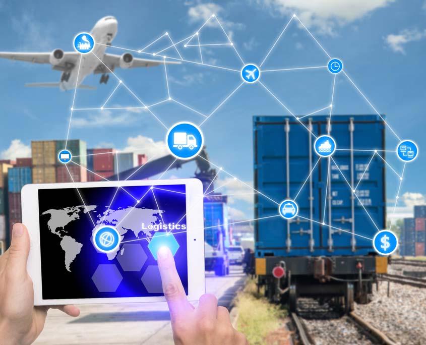 Vernetzung der Logistik