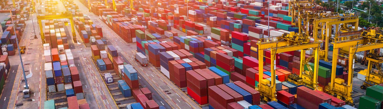 Lager für Container