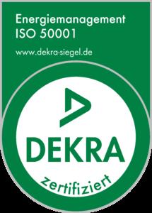 DEKRA 50001 Zertifizierung