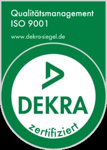 DEKRA-Qualisiegel-9001