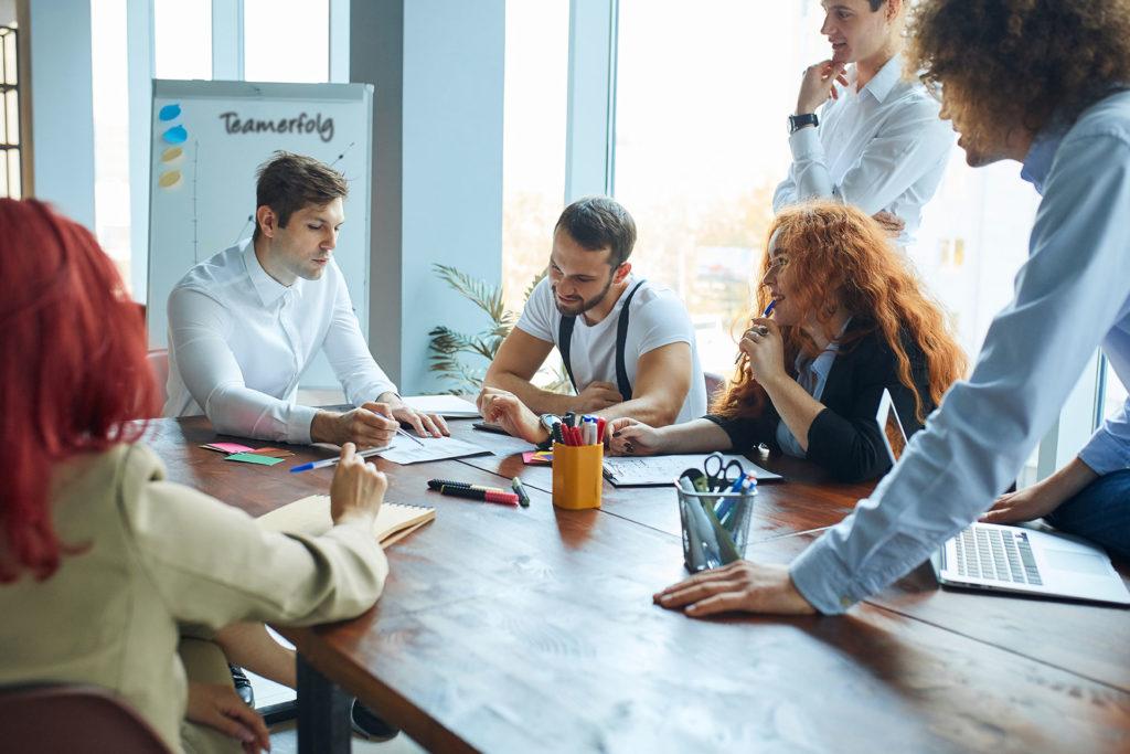 Meeting bei der Ziegler Group